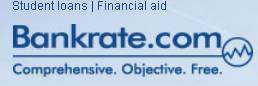 student loans financial aid bankrate.com logo