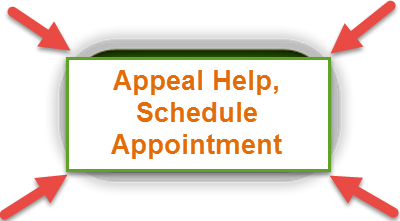 text inside green box appeal help schedule appointment